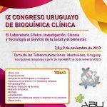 IX Congreso Uruguayo de Bioquímica Clínica