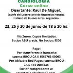 Curso Online: Marcadores Bioquímicos para Cardiología