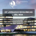 23ª JORNADAS BIOQUÍMICAS DEL NOA