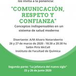 Ponencia: Comunicación, respeto y confianza