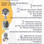 Conversatorio: Llegó la hora de la vacunación COVID-19 en Colombia