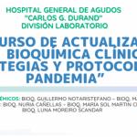 XVIII Curso de Actualización en Bioquímica Clínica: Estrategias y protocolos en pandemia