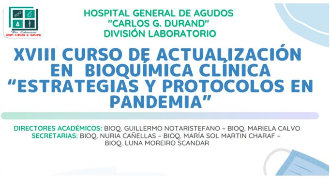 XVIII Curso de Actualización en Bioquímica Clínica