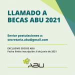 LLAMADOS A BECAS ABU 2021