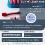 CURSO ONLINE: ENFERMEDAD DE VON WILLEBRAND
