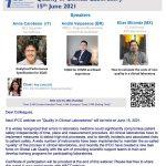 Webinar de IFCC sobre Calidad en el Laboratorio Clínico