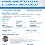 CURSO ONLINE: AUDITORÍAS INTERNAS EN EL LABORATORIO CLÍNICO
